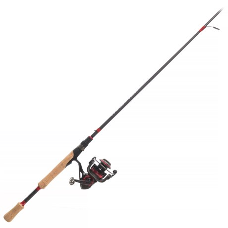 Throttle Size 30 Spinning Rod and Reel Combo – 2-Piece, 6?6? Medium