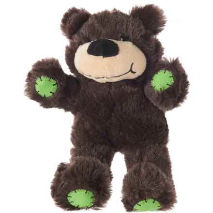 Throw Me A Bone Throw Me a Bone Tough Tangler Plush Dog Toy in Brown - Closeouts