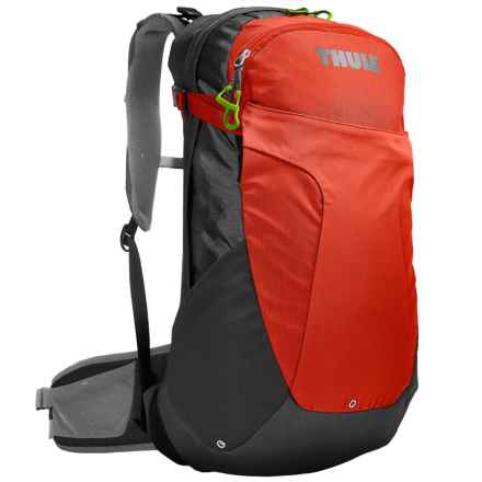 Thule Capstone 22L Backpack - Internal Frame in Dark Shadow/Roarange - Closeouts