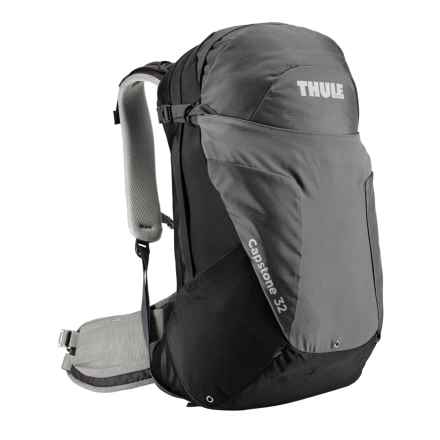 Thule Capstone 32L Hiking Backpack - Internal Frame in Black/Dark Shadow - Closeouts