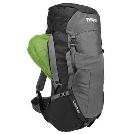 Thule Capstone 50L Backpack - Internal Frame in Black/Dark Shadow - Closeouts