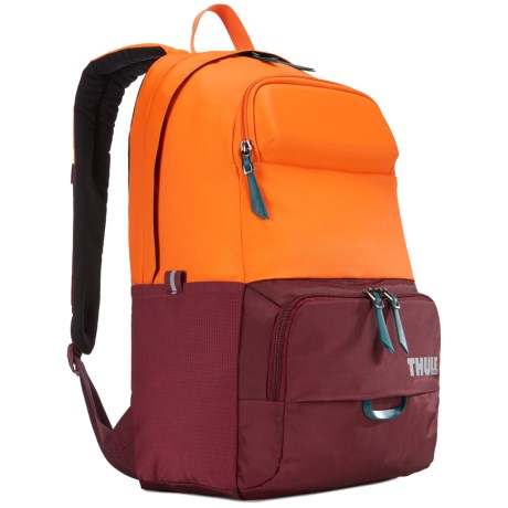 Thule Departer 21L Backpack in Dark Bordeaux/Vibrant Orange