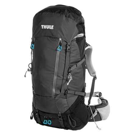 Thule Guidepost 65L Backpack - Internal Frame in Black/Dark Shadow - Closeouts