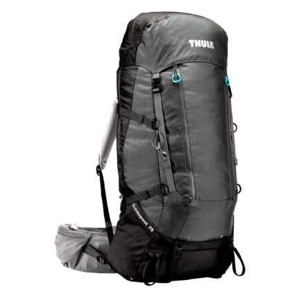 Thule Guidepost 75L Backpack - Internal Frame in Black/Dark Shadow - Closeouts
