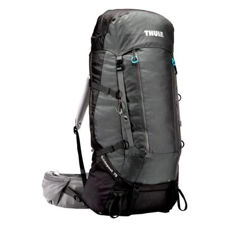 Thule Guidepost 75L Backpack - Internal Frame in Black/Dark Shadow