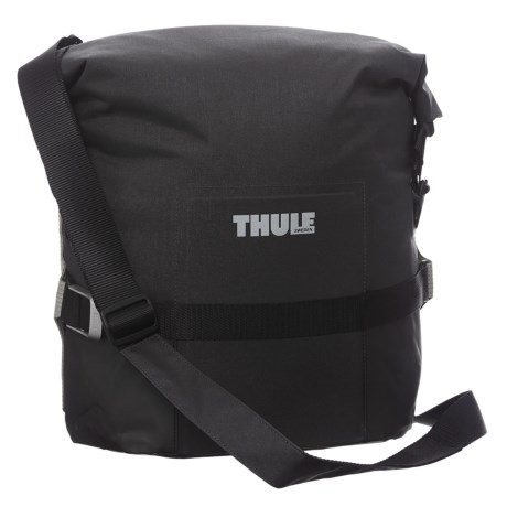 Thule Pack 'n' Pedal Adventure Touring Pannier Bag in Black