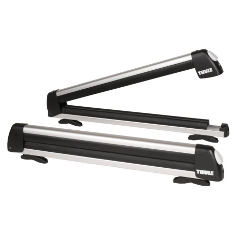 Thule Universal Flat Top Ski and Snowboard Rack in See Photo