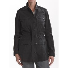 Thyme (x) 2 Garment-Dyed Cotton Anorak Jacket (For Women) in Galaxy - Closeouts