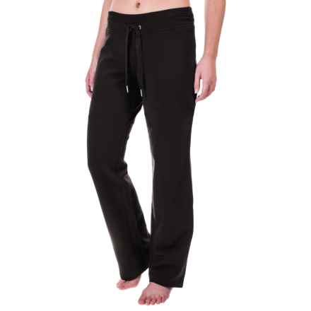 Tie-Front Lounge Pants (For Women) in Black - 2nds