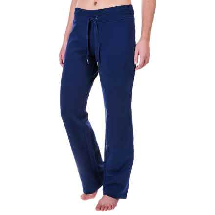 Tie-Front Lounge Pants (For Women) in Navy - 2nds