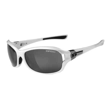 Tifosi Dea SL Sunglasses in Pearl White/Smoke - Closeouts
