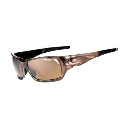 Tifosi Duro Sunglasses - Polarized in Crystal Brown/Brown - Closeouts