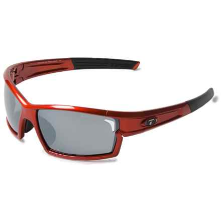 Tifosi Escalate F.H. Sunglasses Kit - Extra Lenses in Metallic Red/Smoke-Ac Red-Clear - Closeouts
