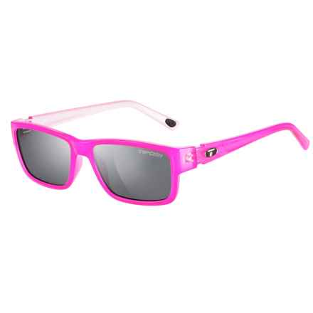 Tifosi Hagen Sunglasses (For Women) in Neon Pink/Smoke - Closeouts