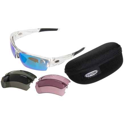 Tifosi Lore Sunglasses - Extra Lenses in Crystal Clear/Clarion Blue-Gt-Ec - Closeouts