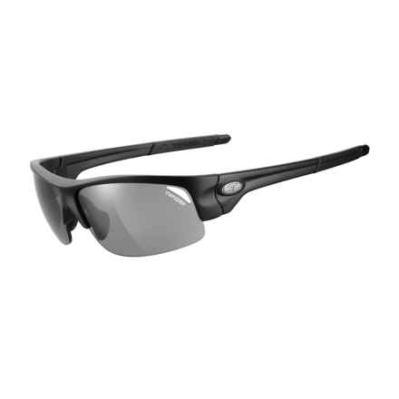 Tifosi Saxon Sunglasses in Matte Black/Smoke - Closeouts