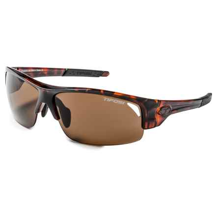 Tifosi Saxon Sunglasses - Polarized in Tortoise/Brown - Closeouts