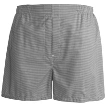 Tiger Mountain Boxer Shorts - Combed Cotton, Underwear (For Men) in Grey To Black Pattern - Closeouts