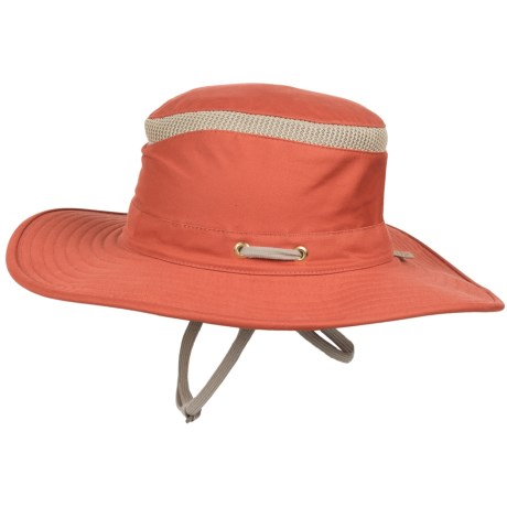 Tilley Hikers Hat - UPF 50+ (For Men and Women) in Orange