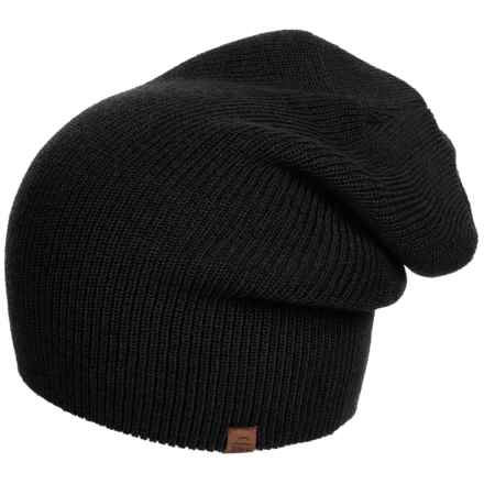 Tilley Merino Wool Toque Hat (For Women) in Black - Closeouts