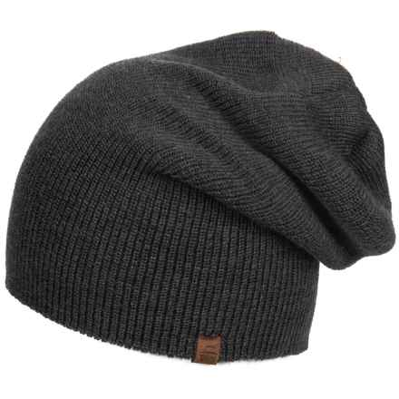 Tilley Merino Wool Toque Hat (For Women) in Charcoal - Closeouts