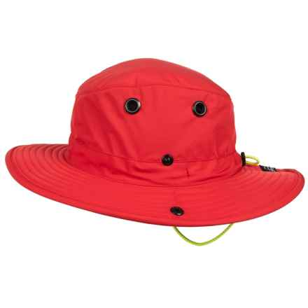 Tilley Paddlers Hat - UPF 50+ (For Men and Women) in Red - Closeouts