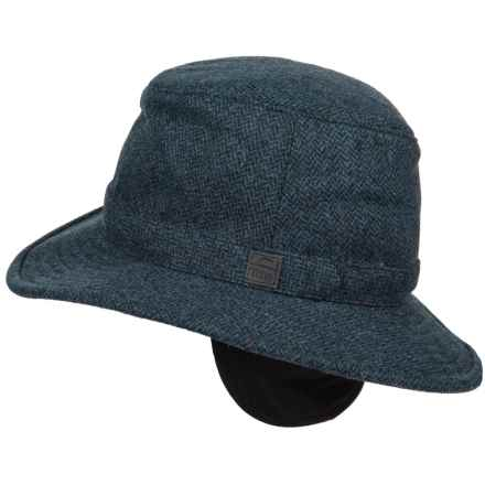 Tilley Tec-Wool Hat (For Men) in Black/Blue - Closeouts