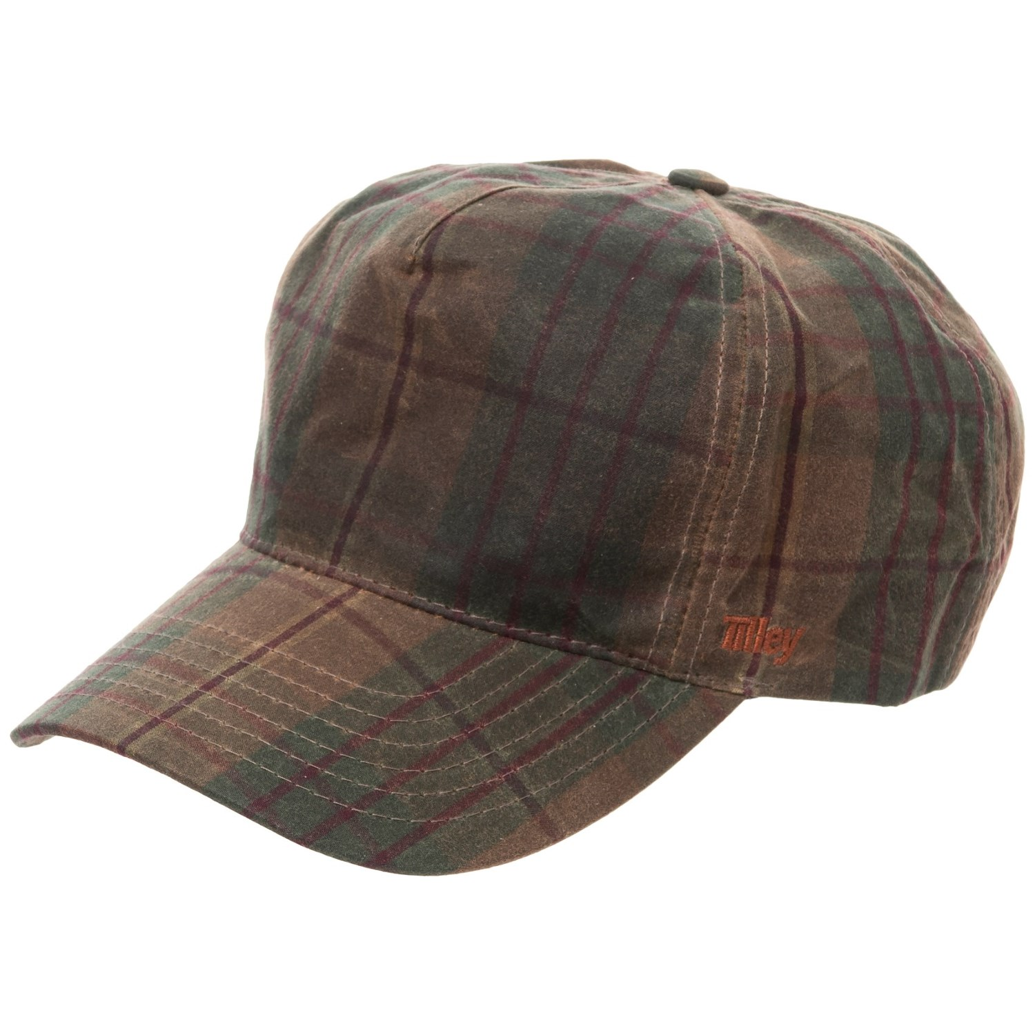 5813351d996 Tilley Waxed-Cotton Baseball Cap (For Men) in Olive ...