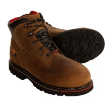 "Timberland 6"" Thermal Force Steel Toe Work Boots - Waterproof, Insulated (For Men) in Brown - Closeouts"