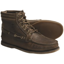 Timberland 7-Eye Chukka Boots - Leather (For Men) in Brown - Closeouts