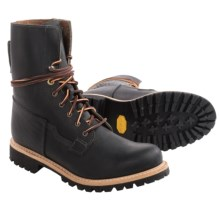 """Timberland 8"""" Tall Engineer Boots - Leather (For Men) in Black - Closeouts"""