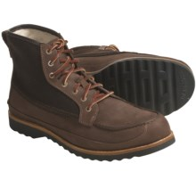 Timberland Abington Collection 7-Eye Moc Work Boots - Leather (For Men) in Brown - Closeouts