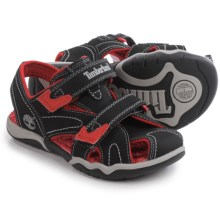 Timberland Adventure Seeker Sandals - Closed Toe (For Little and Big Kids) in Black - Closeouts