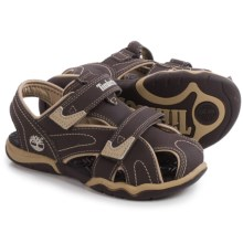 Timberland Adventure Seeker Sandals - Closed Toe (For Little and Big Kids) in Brown - Closeouts