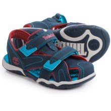 Timberland Adventure Seeker Sandals - Closed Toe (For Little and Big Kids) in Navy/Red - Closeouts