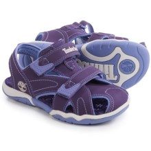 Timberland Adventure Seeker Sandals - Closed Toe (For Little and Big Kids) in Purple - Closeouts