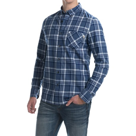 Timberland Allendale River Plaid Poplin Shirt Long Sleeve (For Men)