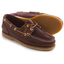 Timberland Amherst Boat Shoes - Leather (For Women) in Brown - Closeouts