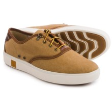 Timberland Amherst Shoes - Lace-Up (For Men) in Brown Washed Canvas - Closeouts