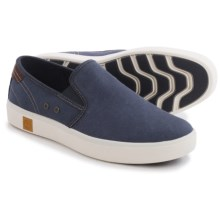 Timberland Amherst Shoes - Slip-Ons (For Men) in Navy - Closeouts