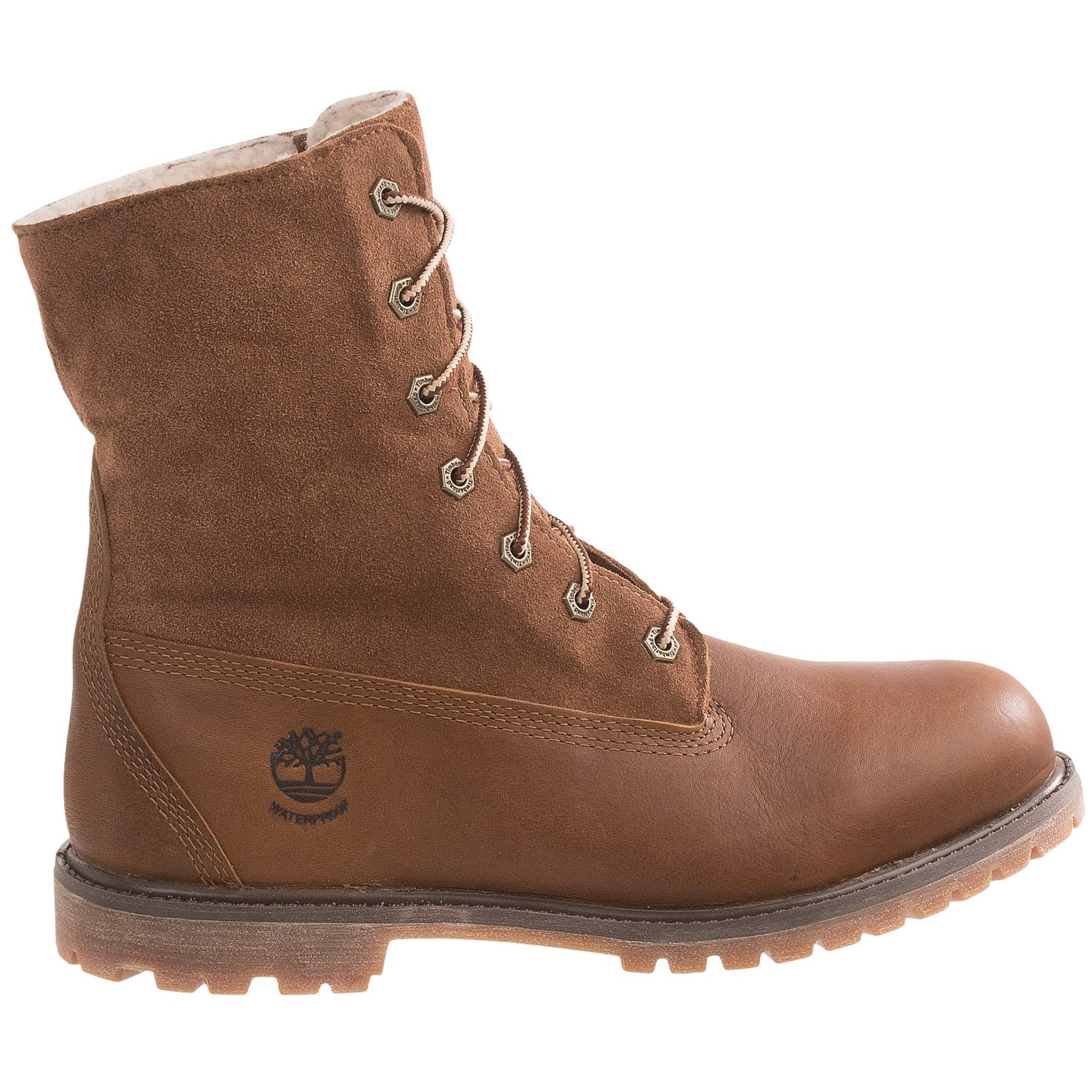 timberland authentics teddy fleece lined boots for