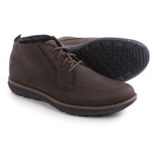 Timberland Barrett Park Chukka Boots - Leather (For Men) in Dark Brown - Closeouts