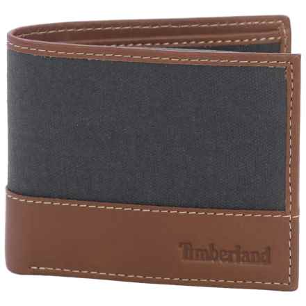 Timberland Baseline Canvas Wallet in Navy - Closeouts