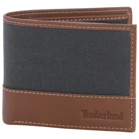 Timberland Baseline Canvas Wallet in Navy