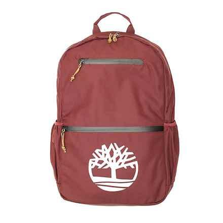 Timberland Basic Logo 22L Backpack (For Men) in Dark Port - Overstock