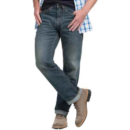 Timberland Baxter Lake Denim Jeans - Straight Leg (For Men) in 18 Month Wash - Closeouts
