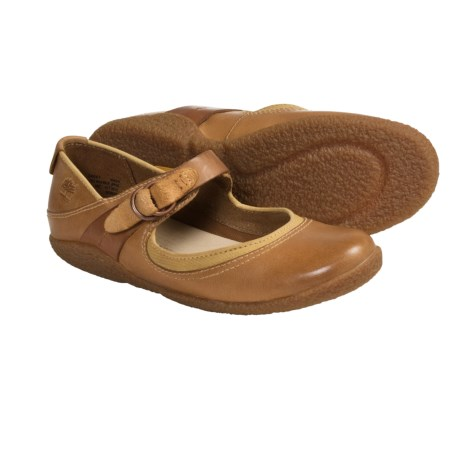 Timberland Bayden Sun Safari Shoes - Leather, Mary Janes (For Women) in Tan