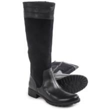 Timberland Bethel Heights Tall Boots - Leather (For Women) in Black - Closeouts