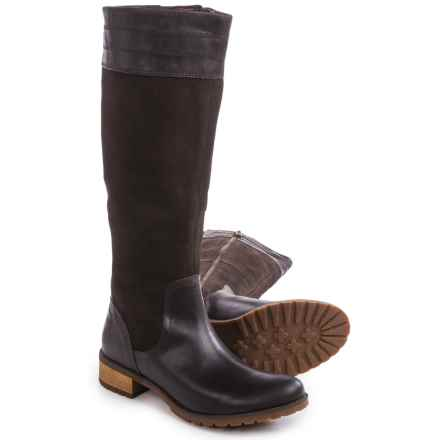 Timberland Bethel Heights Tall Boots - Leather (For Women) in Dark Brown - Closeouts