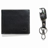 Timberland Billfold Wallet with Key Fob - Leather